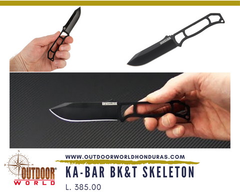 K23BP KA-BAR BK&T Skeleton Neck Knife