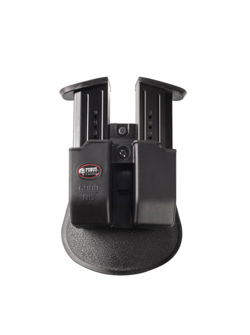 6909ND Double Magazine Pouch for Most 9mm Double Stack Magazines (not Glock) such as Ruger SR9, American Pistol 9mm, CZ P07, S&W M&P, Walther PPQ and similar others