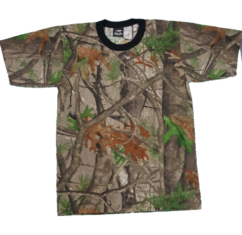 Rothco Camisa con Estampado Real Tree