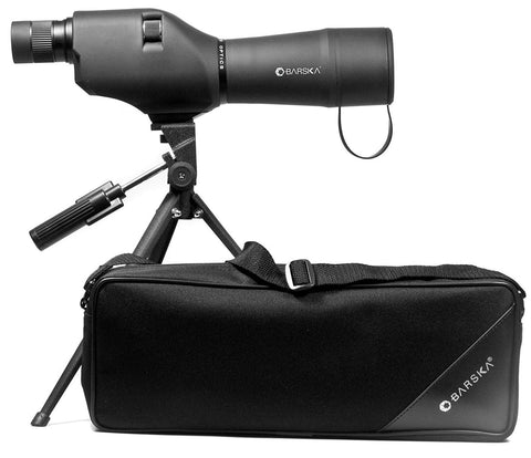 #CO11502 BARSKA 20-60x60 Waterproof Straight Spotting Scope with Tripod