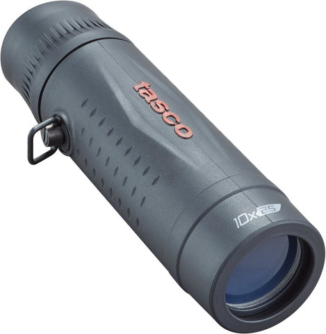 Tasco #568125 Essentials Roof MC Box Monocular, 10 x 25mm, Black
