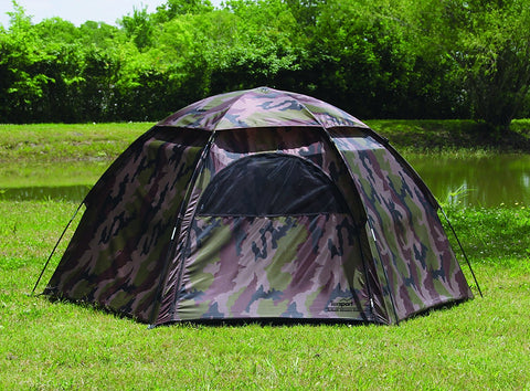 #01113 Hide-A-Way Camouflage Hexagon Dome Tent