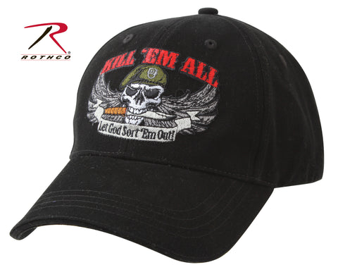 #9599 Rothco Deluxe Kill 'Em All Low Profile Cap