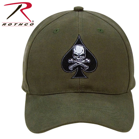 #9884 Black Ink Death Spade Low Profile Insignia Cap