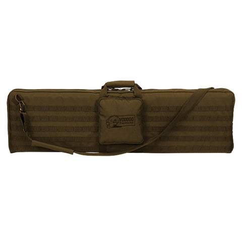 "Voodoo Tactical 15-0171 44"" Padded Single Rifle Padded Weapons Case, Coyote Tan"