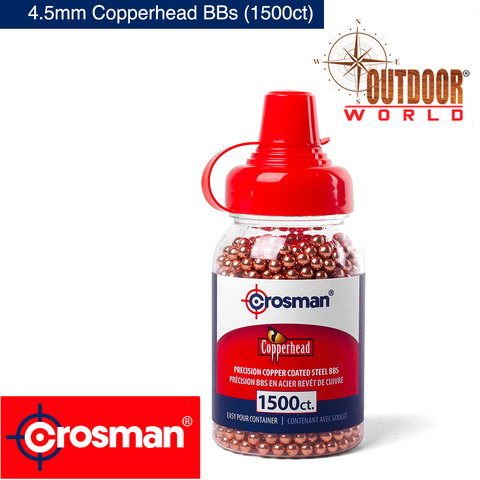 Model: 0737 4.5mm Copperhead BBs (1500ct)
