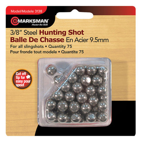 Marksman #3138 3/8 Steel Hunting Shot Balle De Chasse