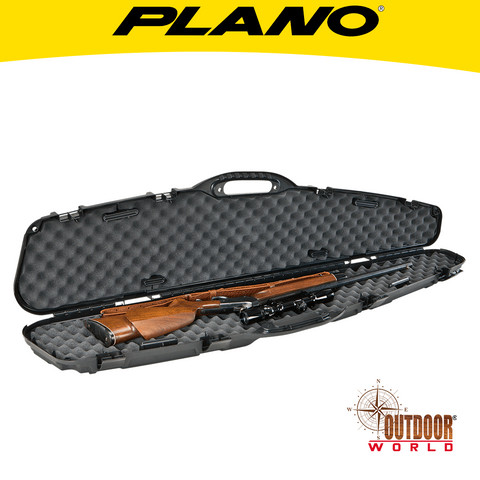 "#151105 Promax Pillarlock Contoured Single Gun Case 52"" Black"