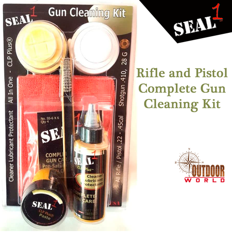 SKIT R/P Rifle and Pistol Complete Gun Cleaning Kit
