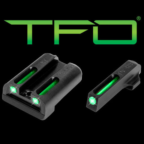 TRUGLO TFO™ TRITIUM/FIBER-OPTIC SIGHTS (GREEN/GREEN) SIG SAUER