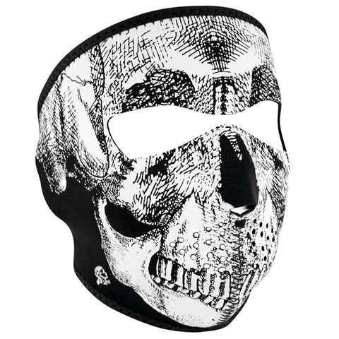 Black & White Skull Face - WNFM002
