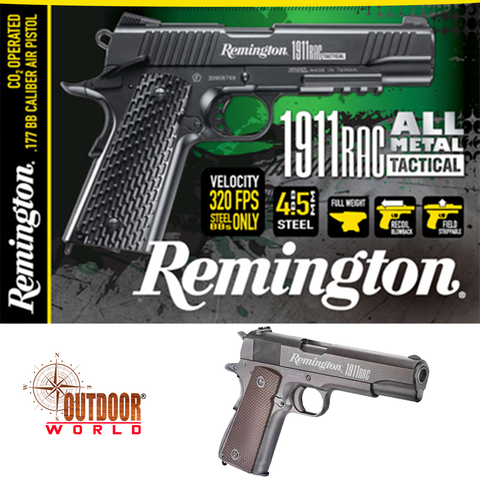 Remington 1911 RAC Full Metal CO2 Pistola de presión 4.5mm