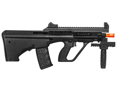 Action Sport Game  Steyr AUG A3 XS Commando AEG Airsoft Gun (Black)