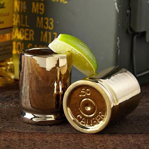 #CBG-1002 50 Caliber Shot Glasses
