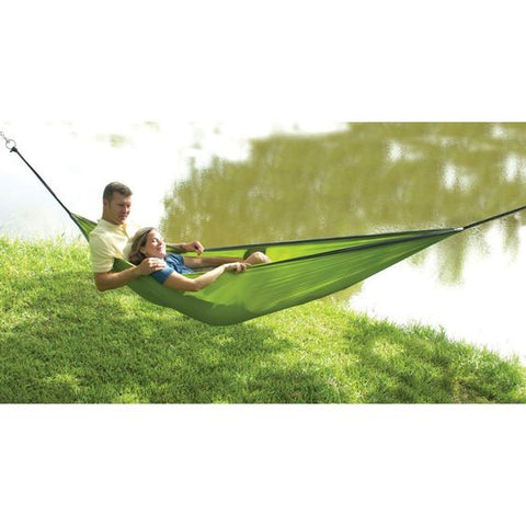 Rambler Double 2 Person Travel Hammock In Green #14277