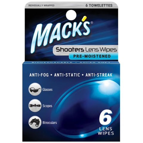 Mack's Shooters Lens Wipes
