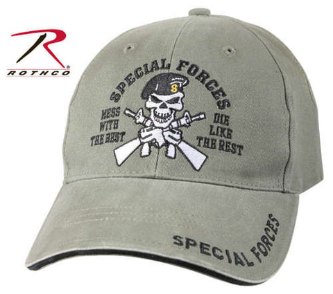 #9887 Rothco Vintage Special Forces Low Profile Cap