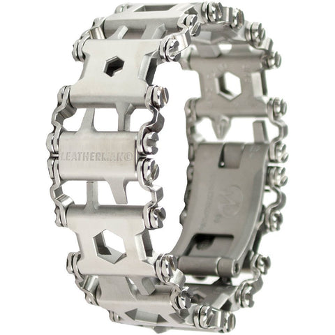 Leatherman #831998N Tread Bracelet - The Travel Friendly Wearable Multi-Tool  Stainless