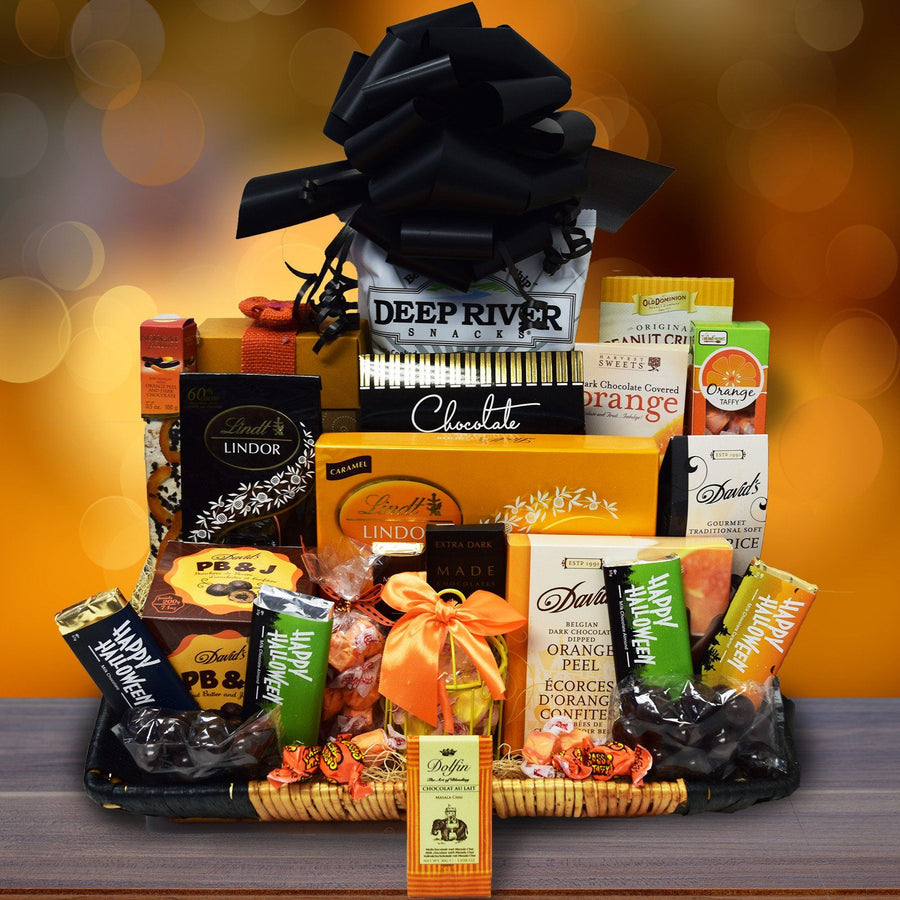 Halloween gift baskets yorkvilles canada the ghostly gourmet halloween gift basket negle Gallery