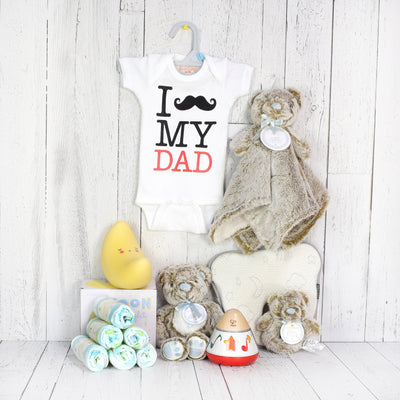Snuggle with Daddy Gift Basket