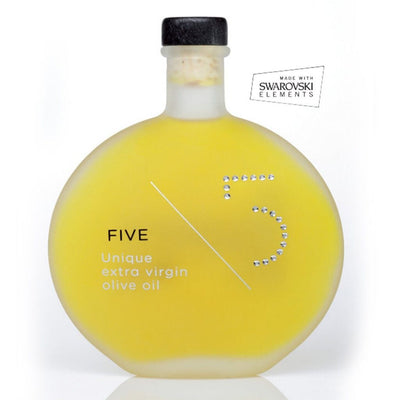 5 UNIQUE EXTRA VIRGIN OLIVE OIL - SWAROVSKI EDITION
