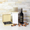 Wine & Truffles Gift Basket, gift baskets, gourmet gift baskets, wine gift baskets