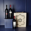 Kosher Wine Trio Gift Basket, wine gift baskets, Hanukkah gift baskets