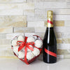 Champagne & Chocolate Strawberries Gift Box , champagne gift baskets, gourmet gift baskets, gift baskets, Valentine's Day gift baskets, Mother's Day Gift Baskets