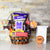 Petrifying Purple Halloween Gift Basket