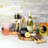 Smoked Salmon, Cheese & Wine Gift Set, wine gift baskets, gift baskets, gourmet gifts