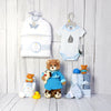 Baby Boy Bath Time Gift Basket