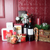 Bountiful Holiday Wine Gift Basket