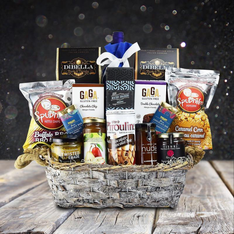 Wine gift baskets toronto yorkvilles canada the new westminster kosher gift basket negle Choice Image