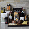 Wine & Cheese Delicatessen Gift Basket, Christmas gift baskets, wine gift baskets, gourmet gift baskets