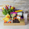 Bright Easter Sunshine Basket, Easter gift baskets, gourmet gift baskets, gift baskets, holiday gift baskets