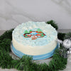 Penguins At Play Holiday Cake, gourmet gift baskets, Christmas gift baskets, gourmet gift baskets
