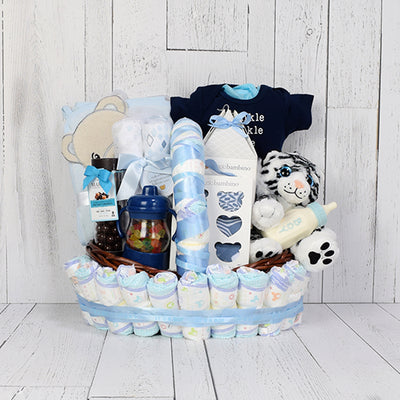 Sweet Treats Baby Gift Basket, baby gift baskets, baby gifts, gift baskets