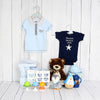Deluxe Elegant Boy Comfort Set, baby gift baskets, baby boy, baby gift, new parent, baby toys