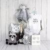 Unisex Baby Champagne & Comfort Set, baby gift baskets, baby boy, baby gift, new parent, baby