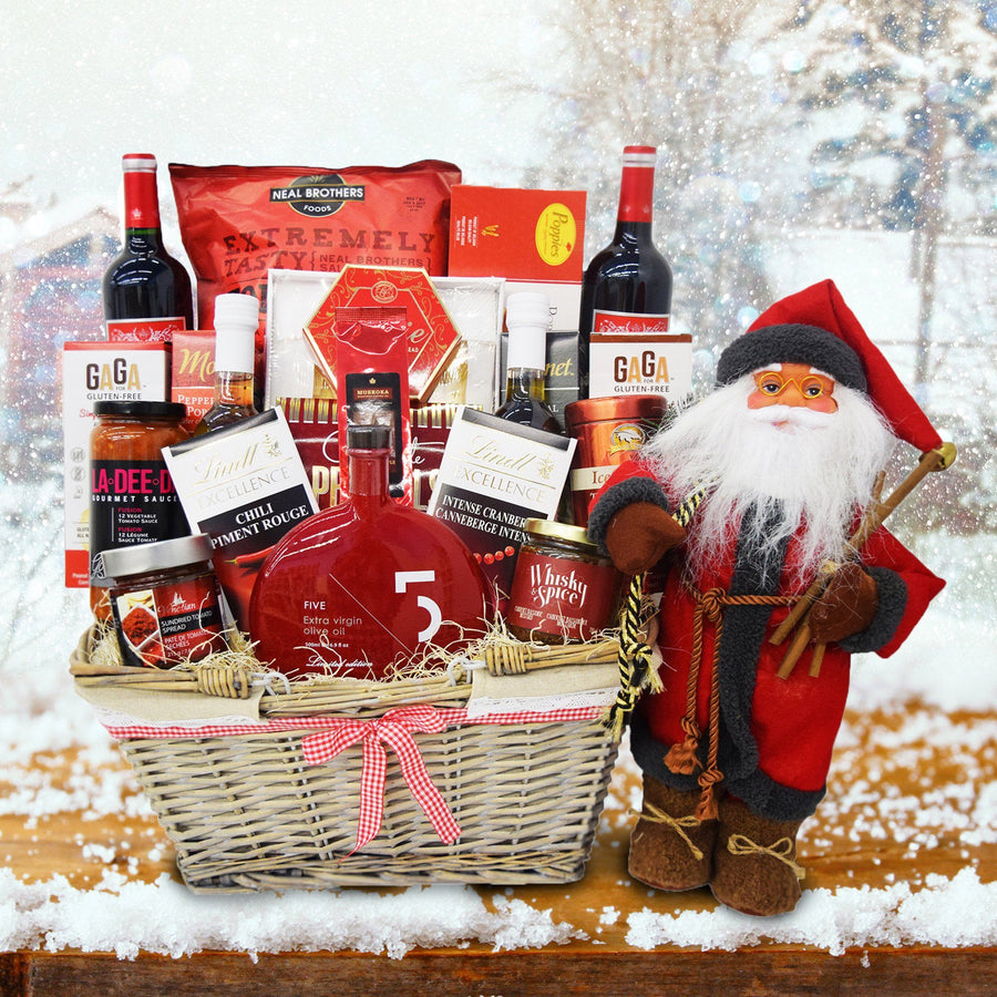 Christmas gift baskets yorkvilles canada the enchanted christmas gift basket negle Choice Image