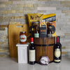 Tuscany Wine Barrel, wine gift baskets, Christmas gift baskets