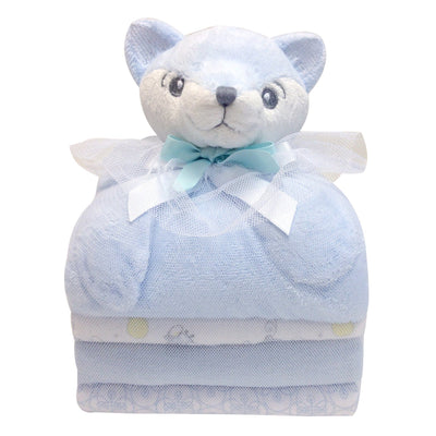 Cuddly Baby gift set of 4 blankets