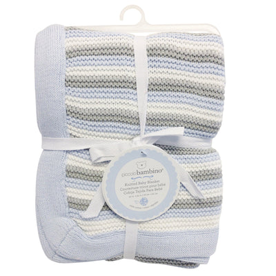 100% Cotton Knitted Baby Blanket