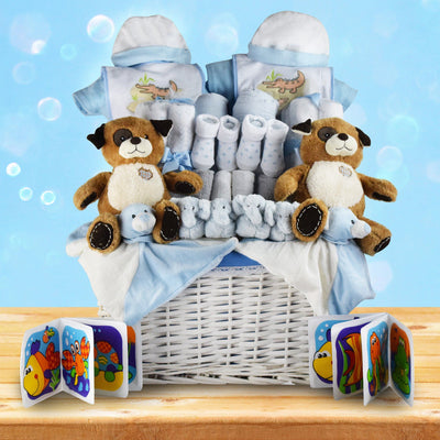 You're Having Twin Boys! Gift Basket