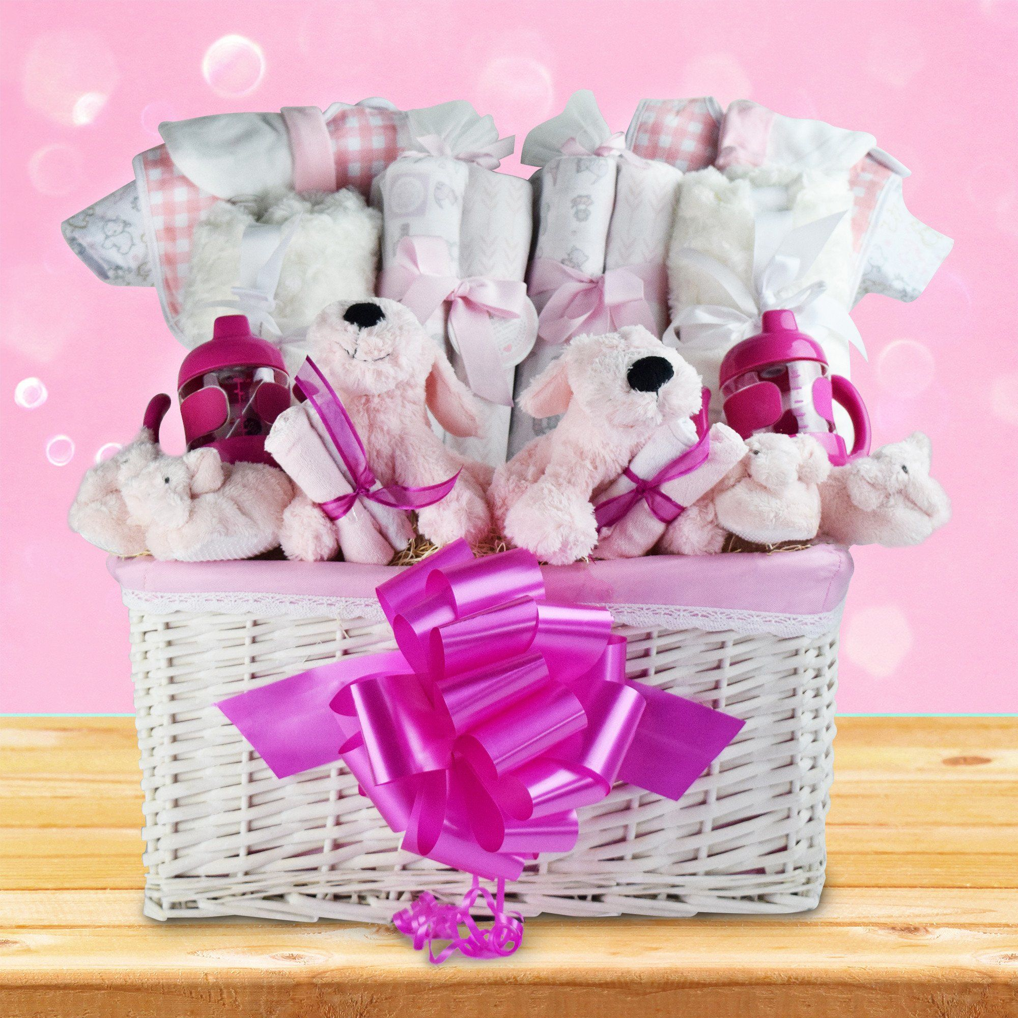 You\'re Having Twin Girls! Gift Basket - YORKVILLE\'S | Canada