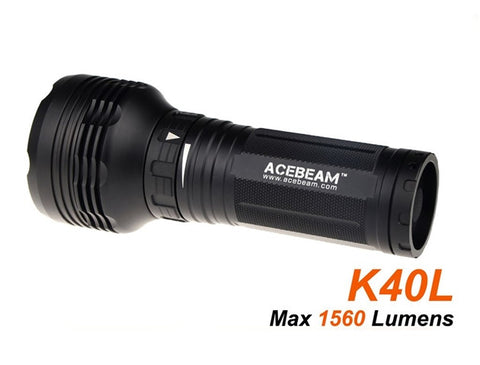 Acebeam K40L  CREE XPL w2 LED - The Outdoors Plus