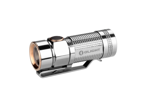 OLIGHT S1 Baton Bead Polished TitaniumCree XM-L2 NW LED, 480 Lumens
