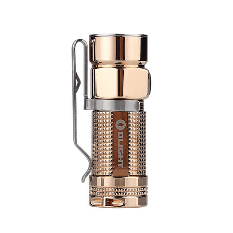 Olight S1-Cu Baton Rose Gold Copper 1 x CR123/16340 XM-L2 500 Lumen LED Limited Edition Flashlight