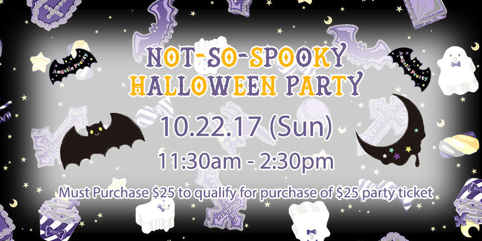 Not-so-spooky Halloween Party!