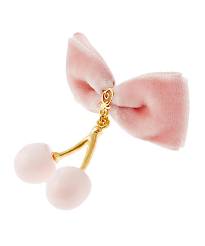 Sakura bonbon · Chocolate ribbon Earring